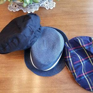 Bundle of 3 toddler hats